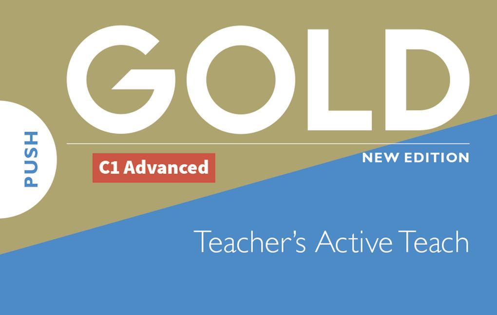 Gold C1 Advanced Teacher's Active Teach - Image