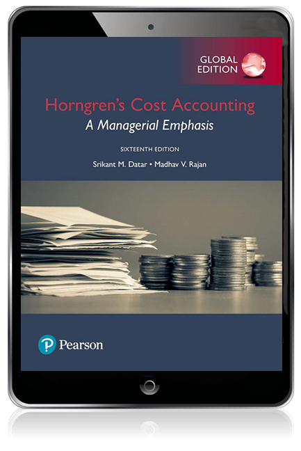 Horngrens cost accounting a managerial emphasis global edition pearson 9781292211619 9781292211619 horngrens cost accounting a managerial emphasis global edition ebook fandeluxe Gallery