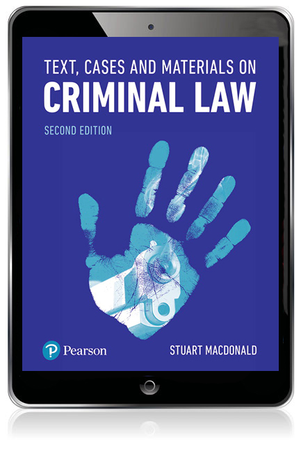 Text, Cases and Materials on Criminal Law eBook
