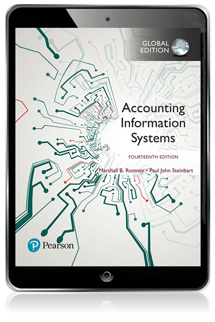 Accounting information systems global edition ebook 14th romney accounting information systems delivers the most comprehensive and flexible coverage of each major approach to teaching ais giving instructors the fandeluxe Images