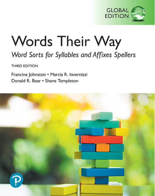 Words Their Way: Word Sorts for Syllables and Affixes Spellers, Global Edition