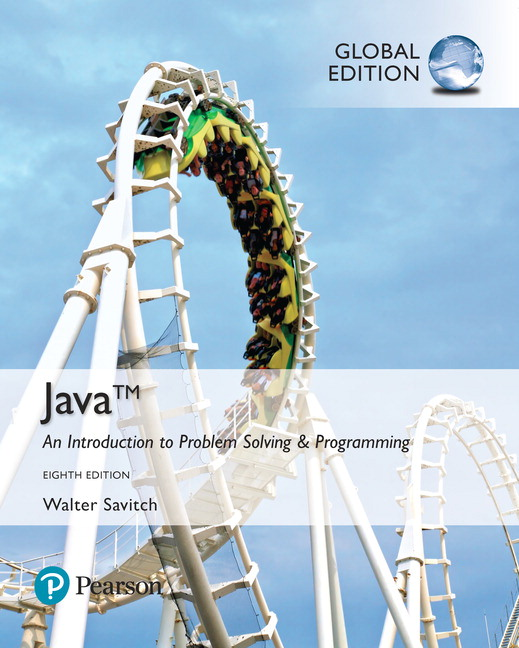 Java an introduction to problem solving and programming global java an introduction to problem solving and programming global edition 8th savitch walter buy online at pearson fandeluxe Choice Image