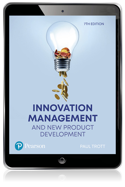 Innovation Management and New Product Development eBook - Image