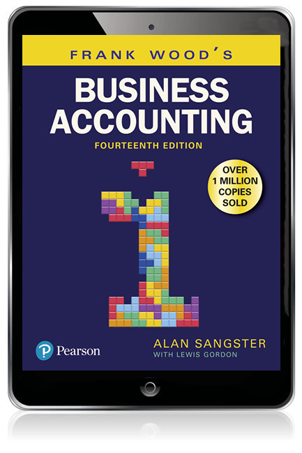 Frank Wood's Business Accounting Volume 1 eBook - Image