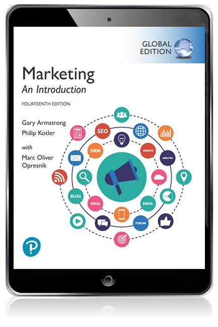 Marketing: An Introduction, Global Edition eBook - Image