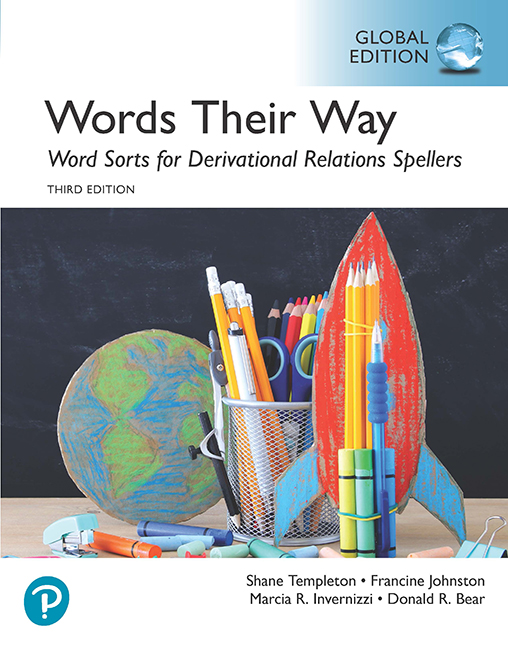 Words Their Way: Word Sorts for Derivational Relations Spellers, Global Edition