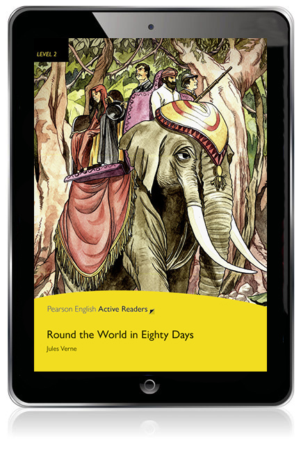 Pearson English Active Readers Level 2: Round the World in 80 Days eBook - Image