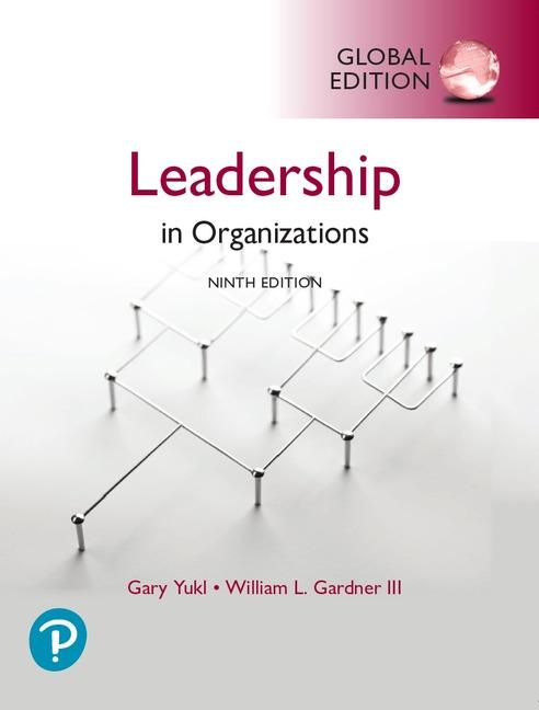 Leadership in Organizations, Global Edition - Image