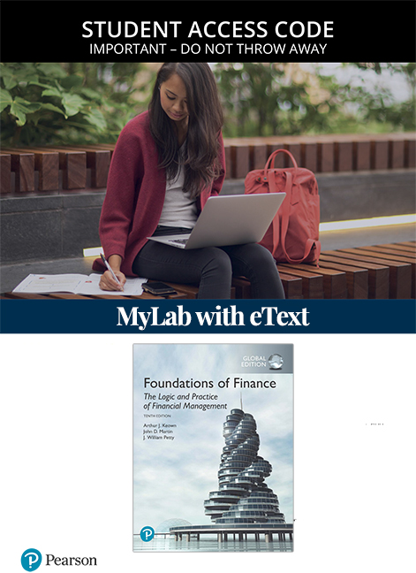 Foundations of Finance, Global Edition MyLab Finance with eText (Access Card)
