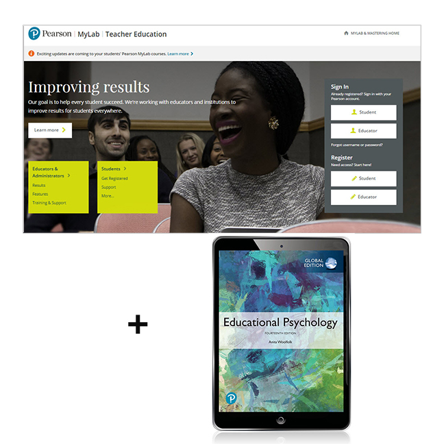 Educational Psychology, Global Edition MyLab Education with eText - Image