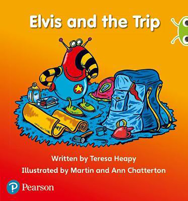 Bug Club Phonics Phase 3: Elvis and the Trip
