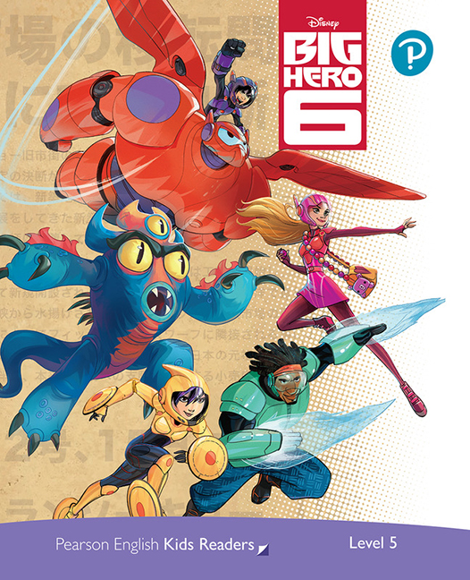 Pearson English Kids Readers Level 5: Disney Big Hero 6 - Image