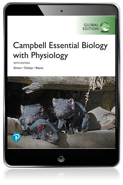 Campbell Essential Biology with Physiology, Global Edition Pearson eText - Image