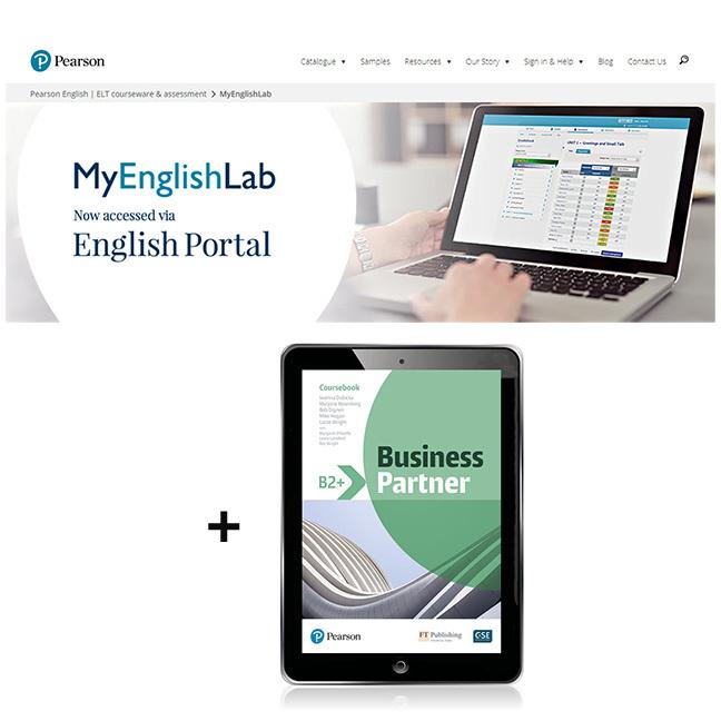 Business Partner B2+ Student eBook with MyEnglishLab - Image