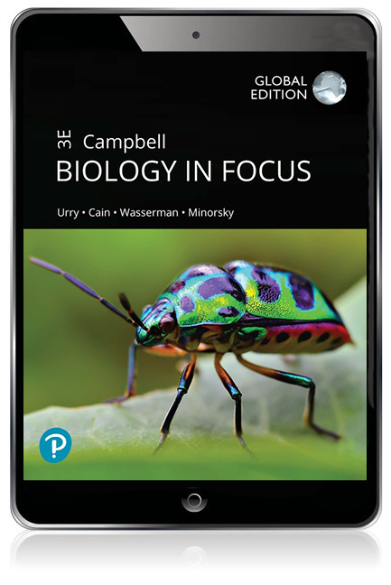 Campbell Biology in Focus, Global Edition Pearson eText - Image