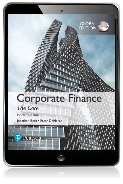 Corporate Finance: The Core, Global Edition Pearson eText - Image