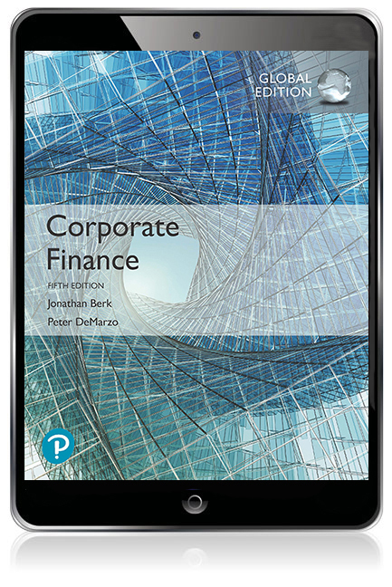 Corporate Finance, Global Edition Pearson eText - Image