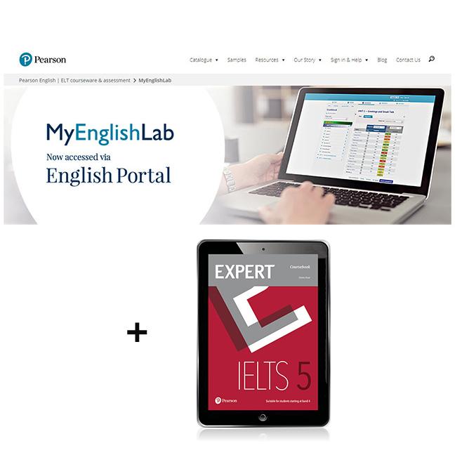 Expert IELTS 5 eBook with MyEnglishLab - Image