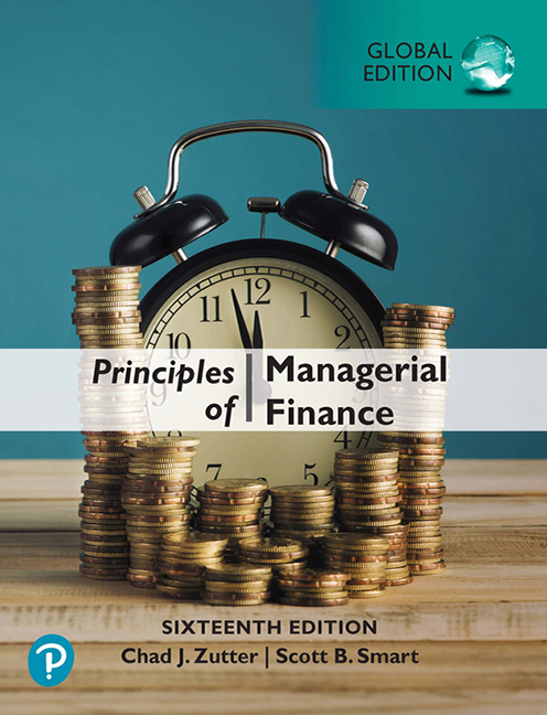 Principles of Managerial Finance, Global Edition - Image