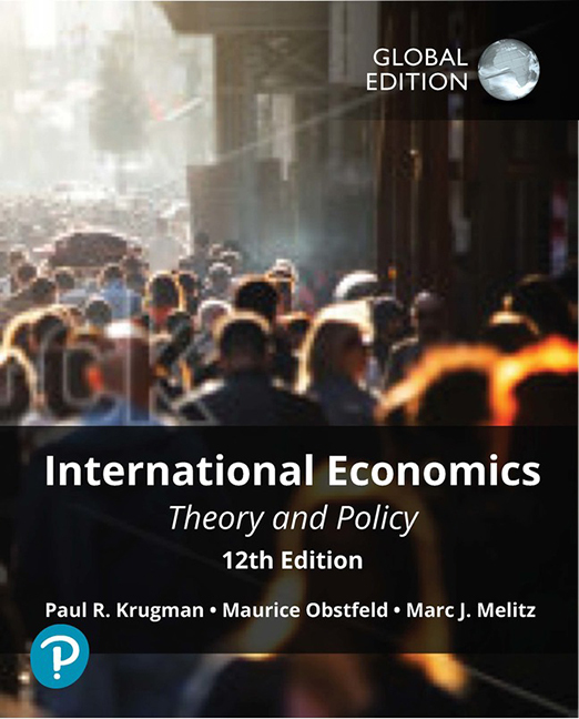 International Economics: Theory and Policy, Global Edition - Image