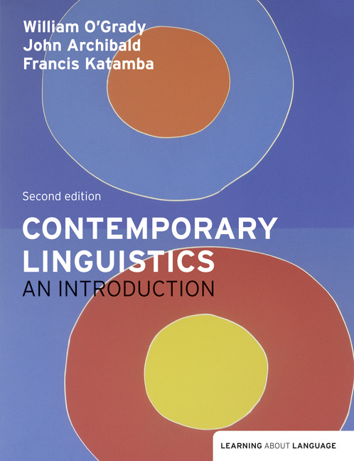 Contemporary linguistics an introduction 2nd ogrady william et contemporary linguistics an introduction 2nd ogrady william et al buy online at pearson fandeluxe Images