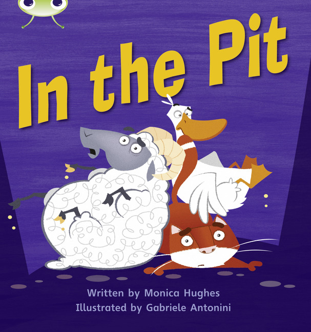 Bug Club Phonics Phase 2: In the Pit (Reading Level 2/F&P Level B)