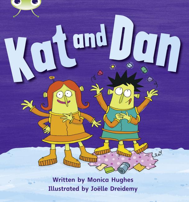 Bug Club Phonics Phase 2: Kat and Dan (Reading Level 1/F&P Level A)