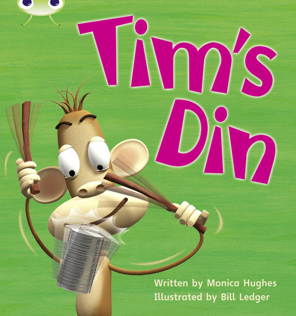 Bug Club Phonics Phase 2: Tim's Din (Reading Level 1/F&P Level A)