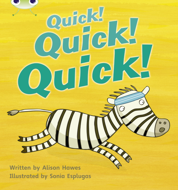 Bug Club Phonics Phase 3: Quick! Quick! Quick! (Reading Level 3/F&P Level C)