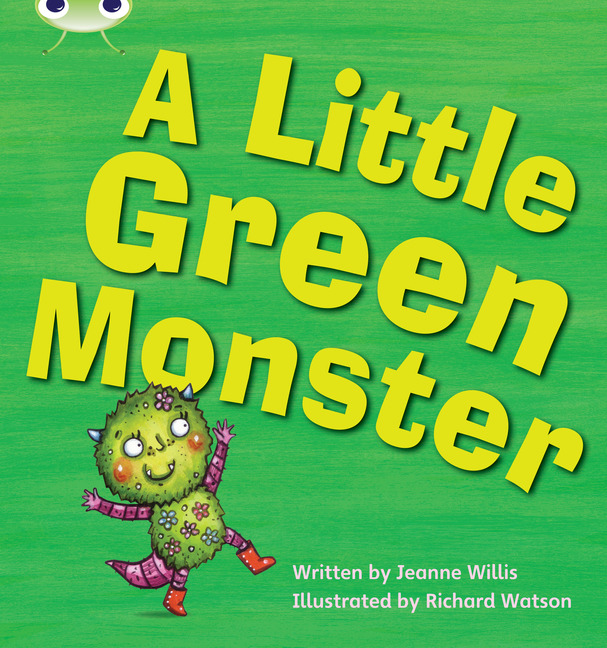 Bug Club Phonics Phase 4: A Little Green Monster (Reading Level 6-8/F&P Level D-E)