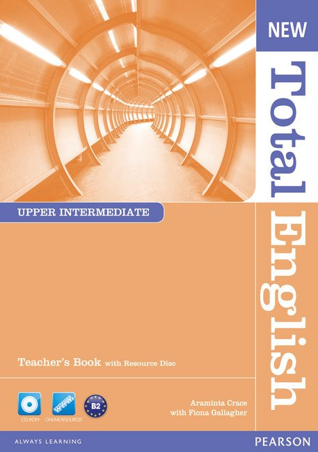 New Total English Upper Intermediate Teacher's Book and Teacher's Resource CD Pack - Image