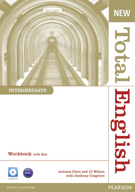 New Total English Intermediate Workbook with Key and Audio CD Pack - Image
