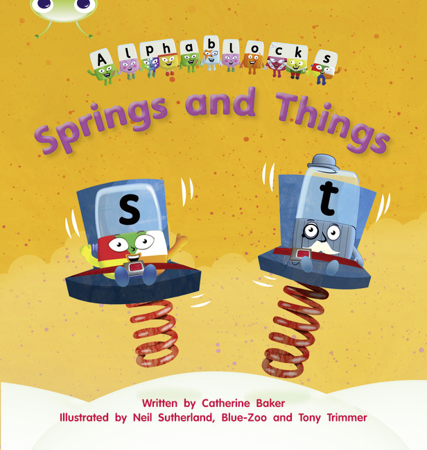 Bug Club Phonics Phase 4: Springs and Things (Reading Level 6-8/F&P Level D-E)
