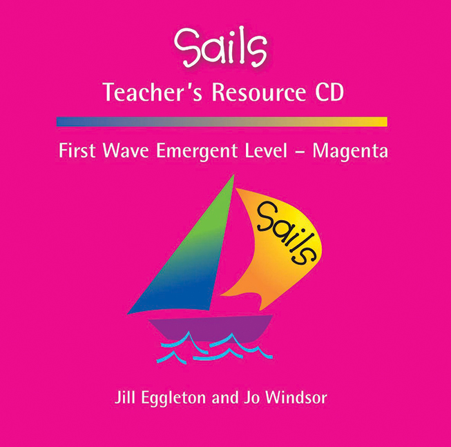 Sails Emergent Level - Magenta Teacher's Resource CD - Image