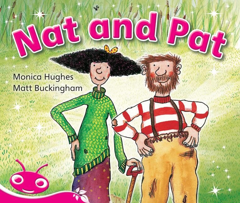 Bug Club Emergent Phonic Fiction Pink: Nat and Pat (Reading Level 1-2/F&P Level A-B)