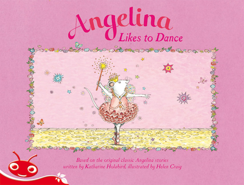 Bug Club Level  3 - Red: Angelina Likes to Dance (Reading Level 3/F&P Level C)