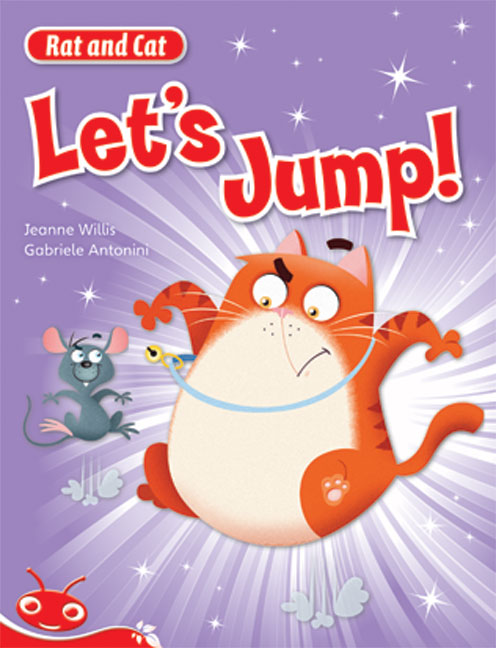 Bug Club Level  5 - Red: Rat and Cat - Let's Jump! (Reading Level 5/F&P Level D)
