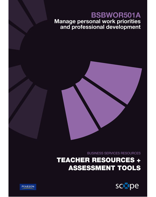 assessment manage personal work priorities and Develop and maintain professional competency bsbwor501 manage personal work priorities assessment 2 submission details candidate's name phone no assessor's name phone no assessment site assessment date/s time/s assessment 2: professional development part 1: positive role modelling we can all think read more.