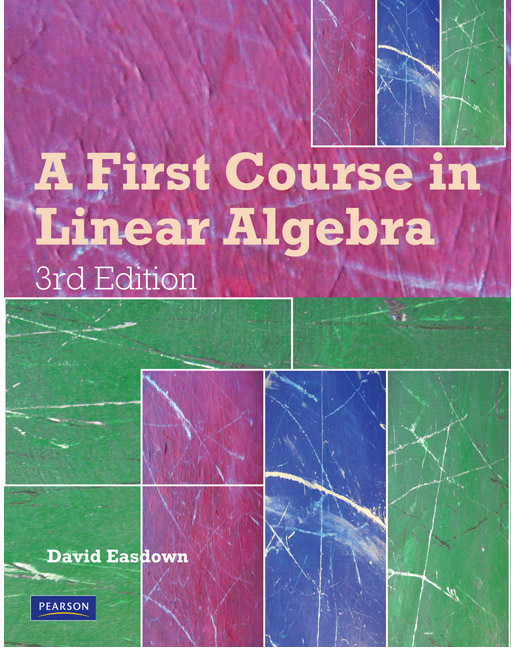 online linear algebra course Ma211: linear algebra this course is composed of a range of different free, online materials however, the course makes primary use of the following materials.