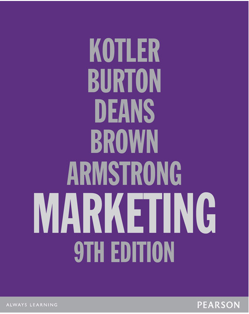 Marketing 9th kotler philip et al buy online at pearson pearson 9781442549425 9781442549425 marketing fandeluxe Image collections