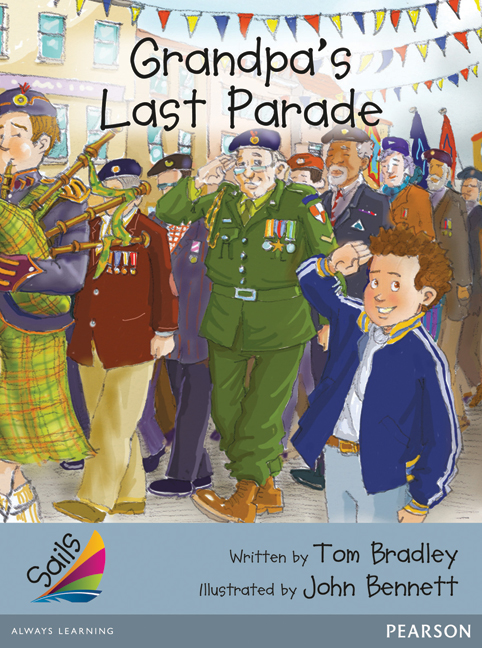 Sails Additional Fluency - Silver: Grandpa's Last Parade (Reading Level 23-24/F&P Level N-O)