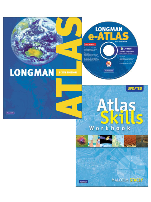 Longman Atlas Value Pack 6th Stacey Malcolm Ralph Brian Buy