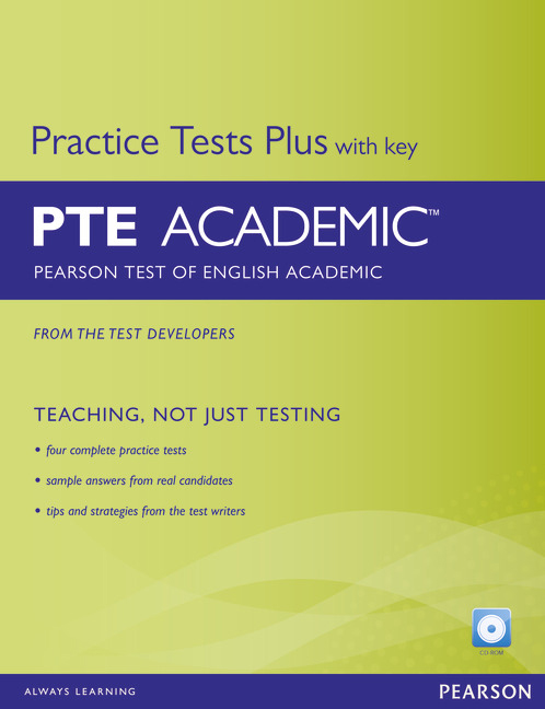 PTE Academic Practice Tests Plus Student Book with Key - Image
