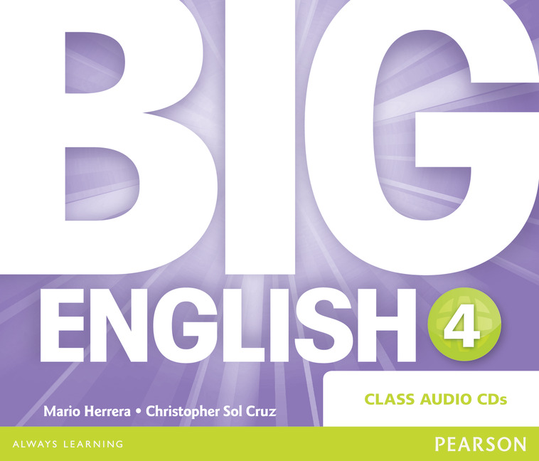 Big English 4 Audio CD