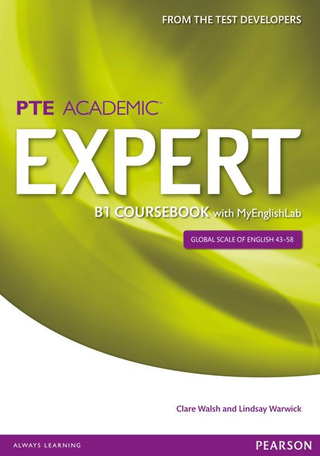 Pearson Test Of English Academic B1 Expert Coursebook With