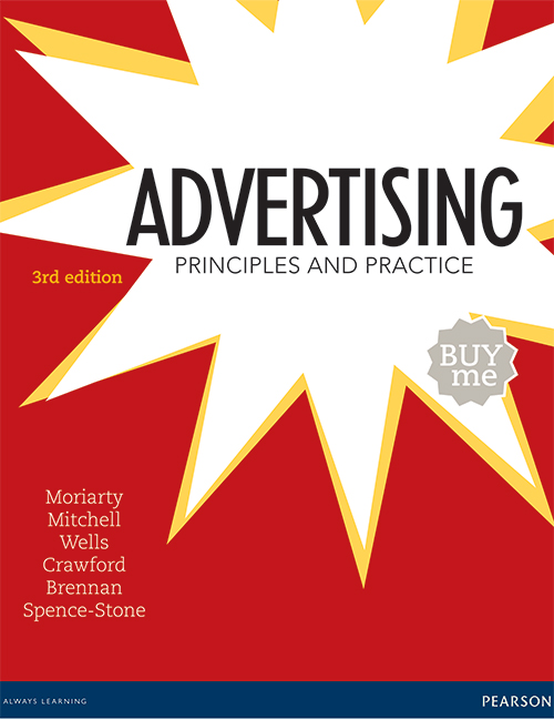 Advertising Principles And Practice 3rd Moriarty Sandra Et Al Pearson