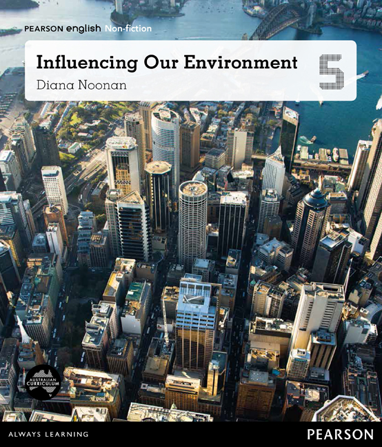 Pearson English Year 5: Places and Spaces - Influencing Our Environment (Reading Level 29-30+/F&P Level T-V) - Image