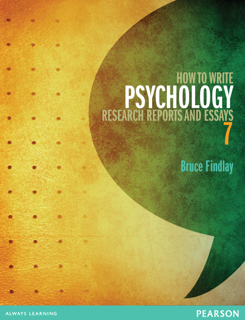 How To Write Psychology Research Reports And Essays Th Findlay  How To Write Psychology Research Reports And Essays Th Edition Is  Endorsed By The Australian Psychological Society And Is A Useful Reference  To The Strict
