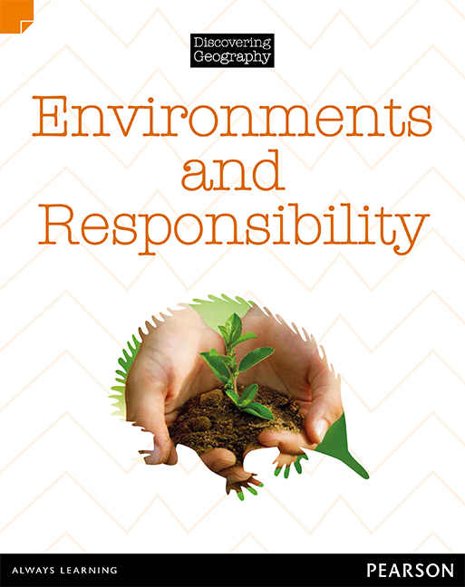 Discovering Geography (Middle Primary Nonfiction Topic Book): Environments and Responsibility (Reading Level 28/F&P Level S) - Image