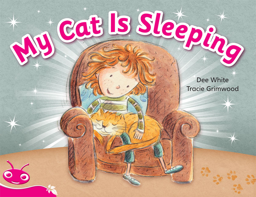 Bug Club Level  1 - Pink: My Cat is Sleeping (Reading Level 1/F&P Level A)